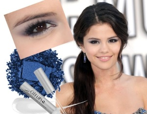 Miss Selena's Blue Smokey Eyes