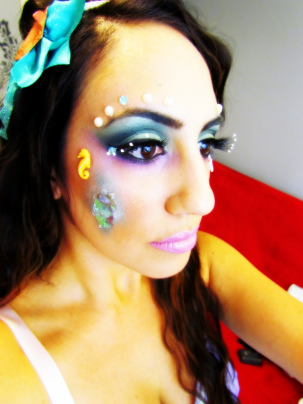 mermaid makeup |