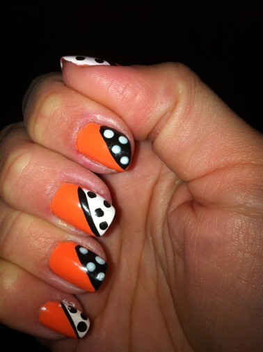 Pop Art Orange