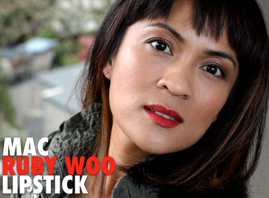 MAC Monday: Ruby Woo Lipstick