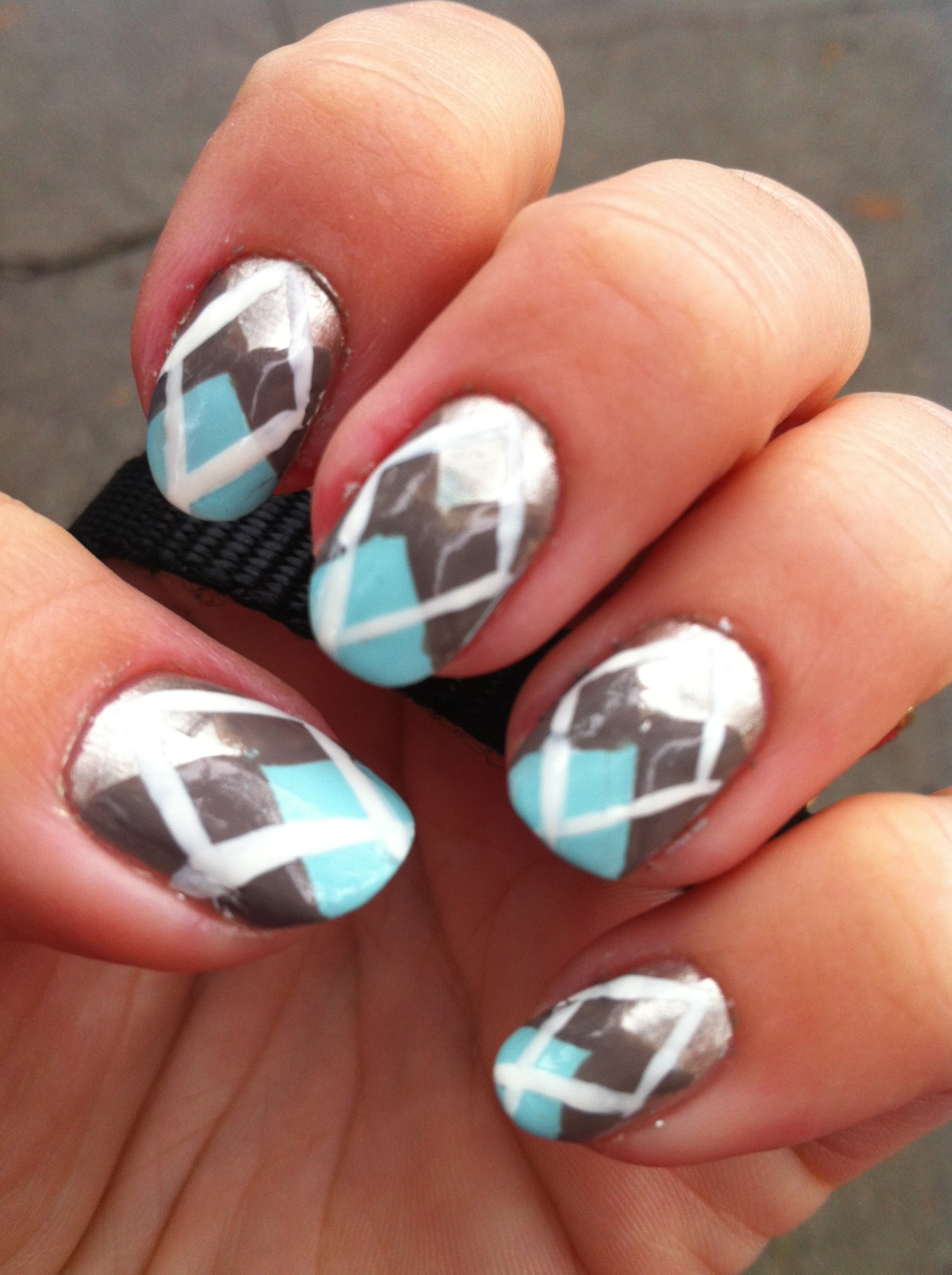Nail Art Designs And Nail Polishes For French Manicure: Nail Art