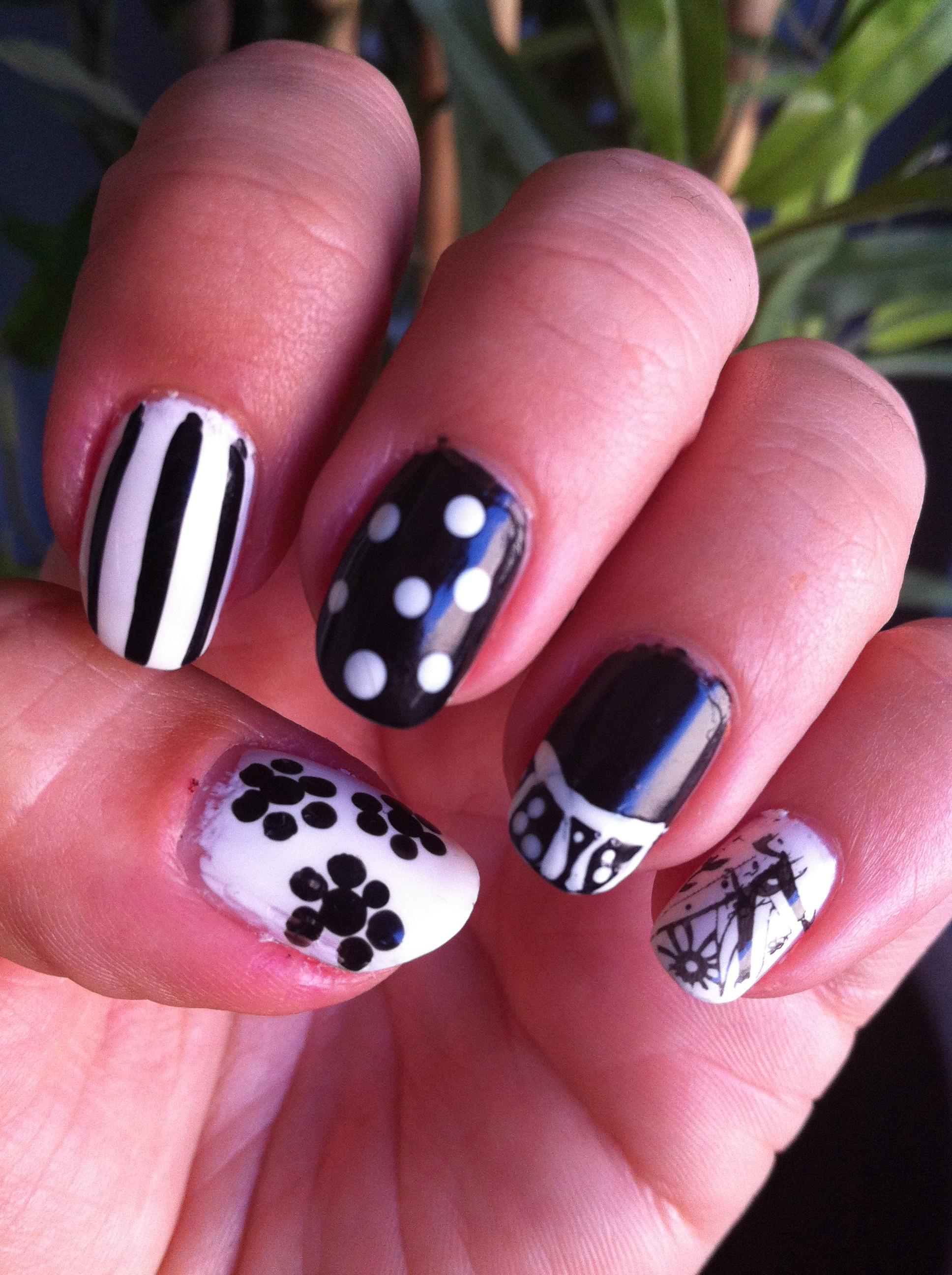 Nail art creve coeur nails gallery cute nail polish art prinsesfo Gallery