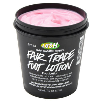 Fair Trade Foot Lotion