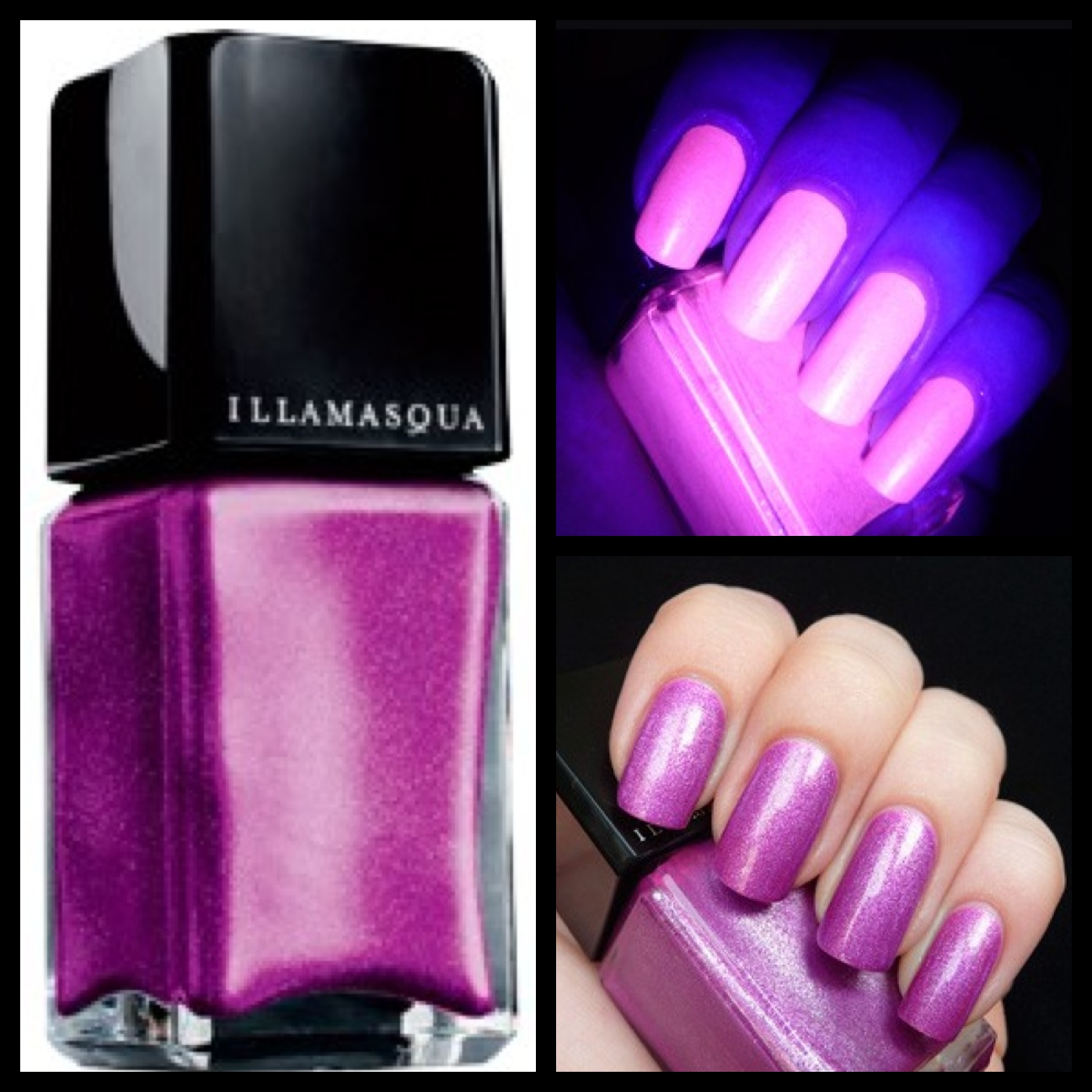 glow in the dark nail polish |
