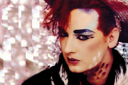 Boy George Makeup
