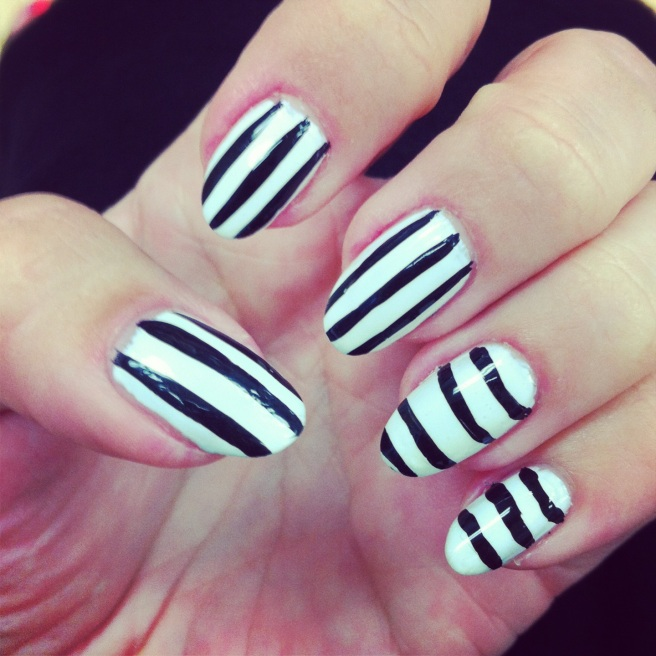 BlackWhite Stripes