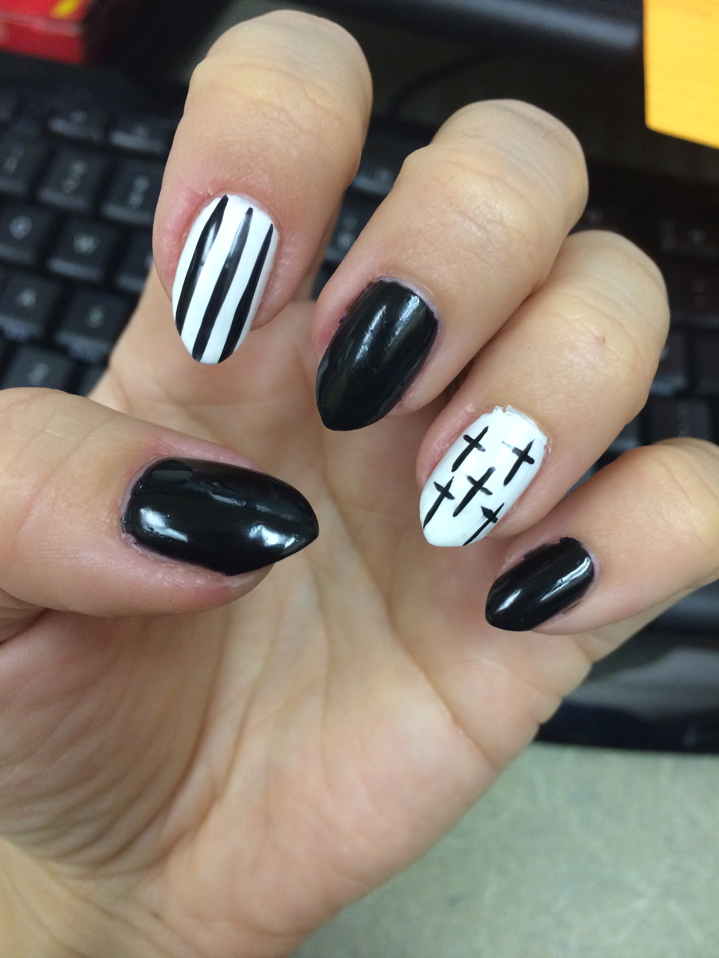 Cute Cross Nail Art The Best Inspiration For Design And Color Of