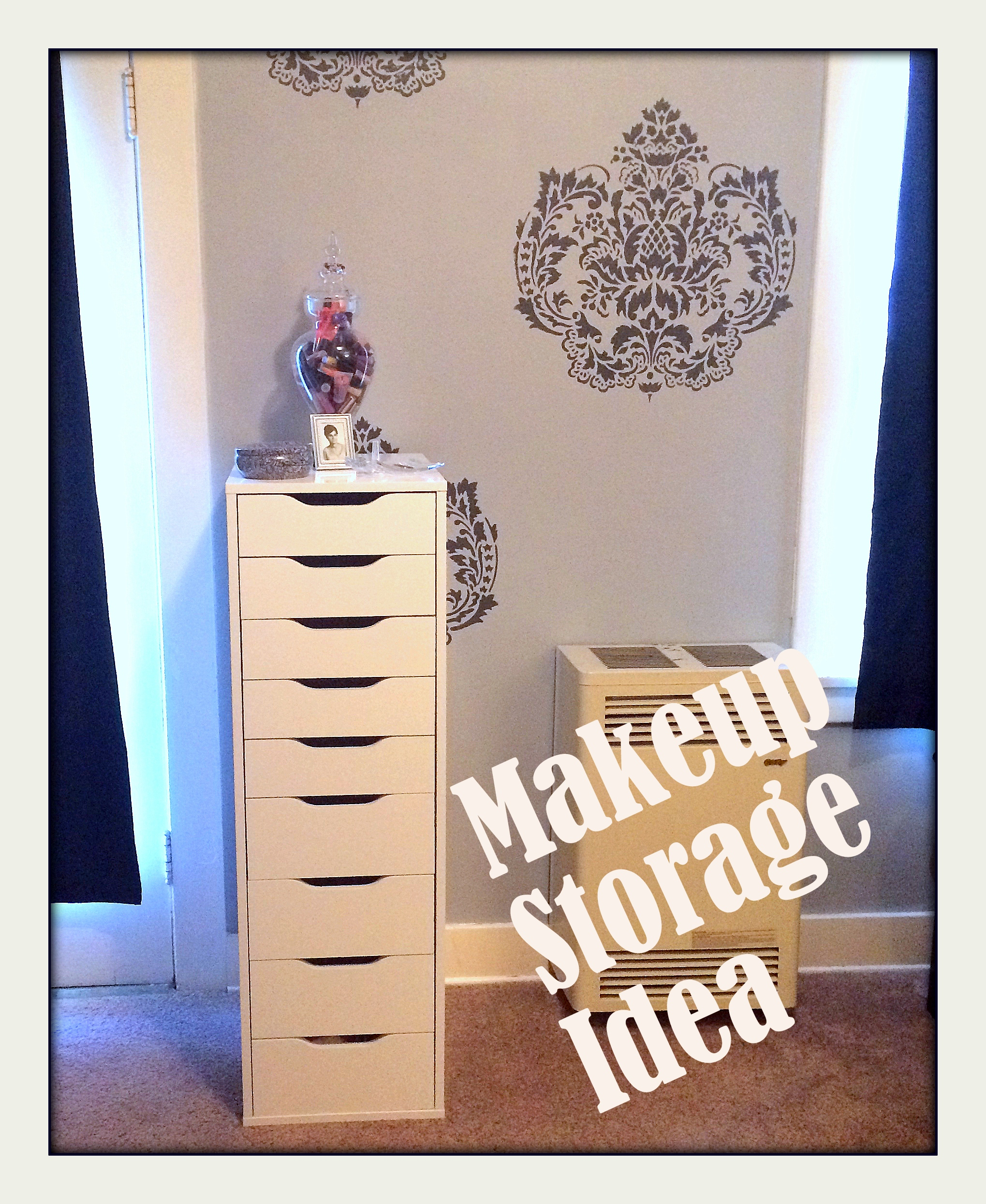 My Makeup Room Storage Ideas