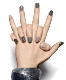 neutral-grey-ombre-nails-manicure-cute-nails-pinterest